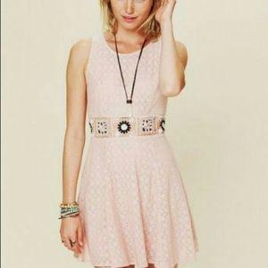 Free People Lace Daisy Dress